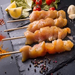 Marinated chicken skewer 7,1€/kg